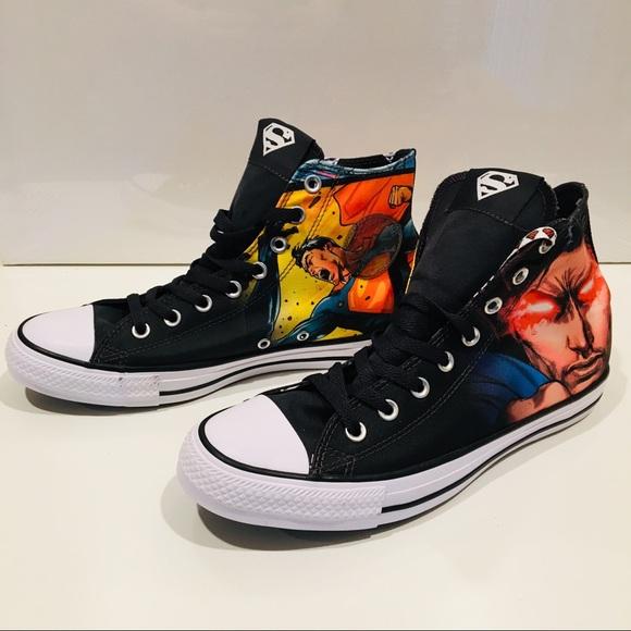 Superman & Flash Rebirth Converse All Star Chucks – Suit Up